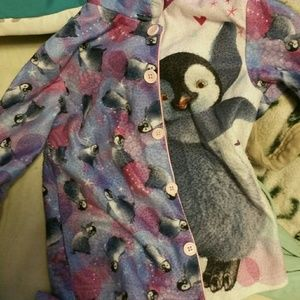 Other - Toddler girls purple penguin 2 pc jams 4t